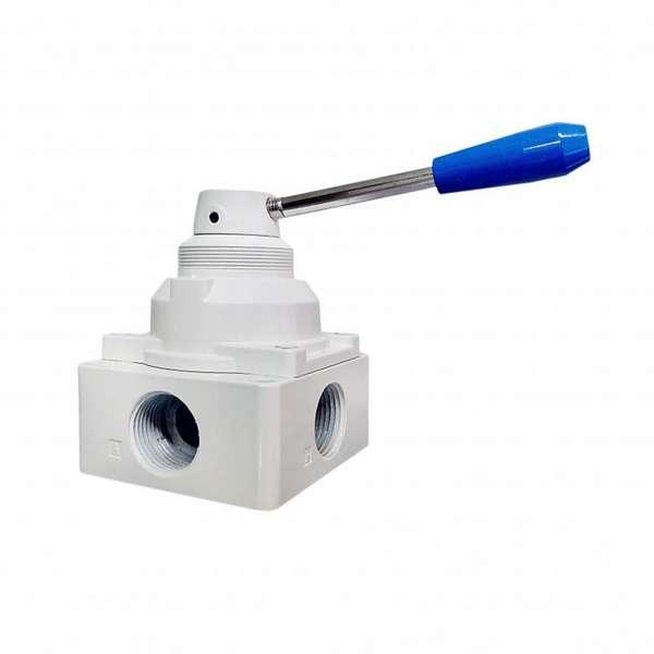 Válvula rotativa pneumática