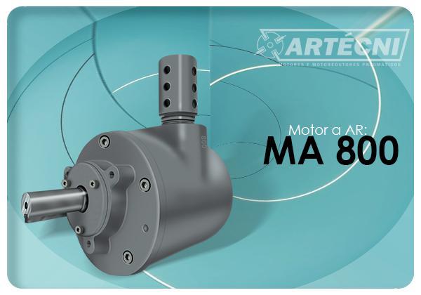 Motor a Ar: 800
